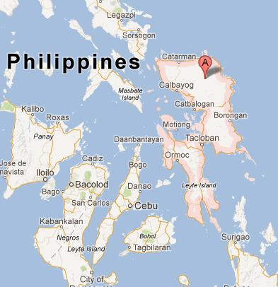 Eastern Visayas Map