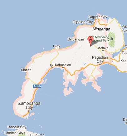 Zamboanga Peninsula Map