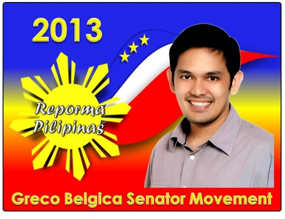 Candidate for Senator 2013: Greco Belgica and His Profile
