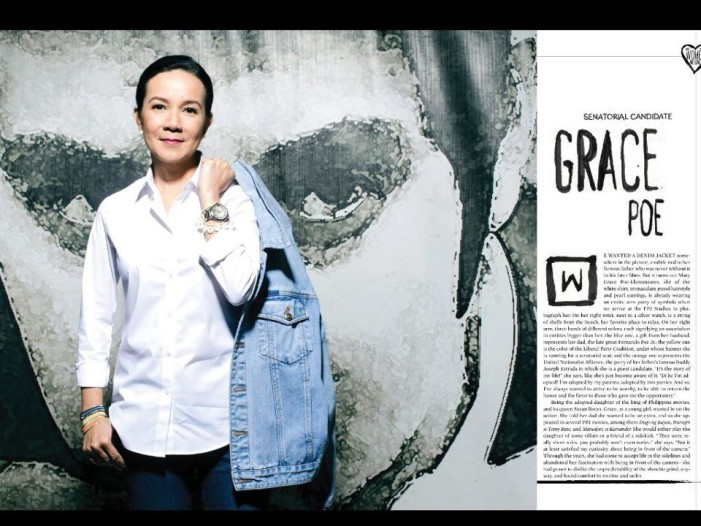 Candidate for Senator 2013: Grace Poe and Her Profile