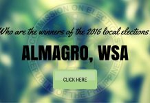 WINNERS: Almagro, Samar Local Elections 2016 Results
