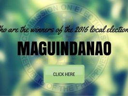 WINNERS: Maguindanao Local Elections 2016 Results