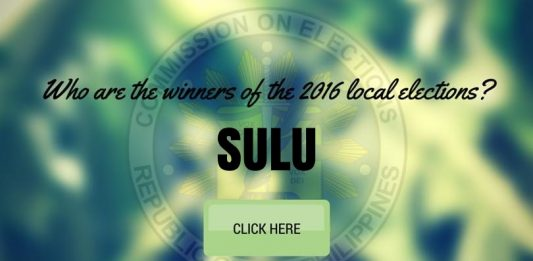 WINNERS: Sulu Local Elections 2016 Results