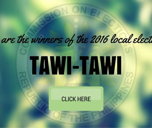 WINNERS: Tawi-Tawi Local Elections 2016 Results